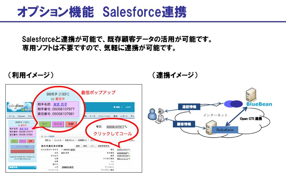 Salesforce連携